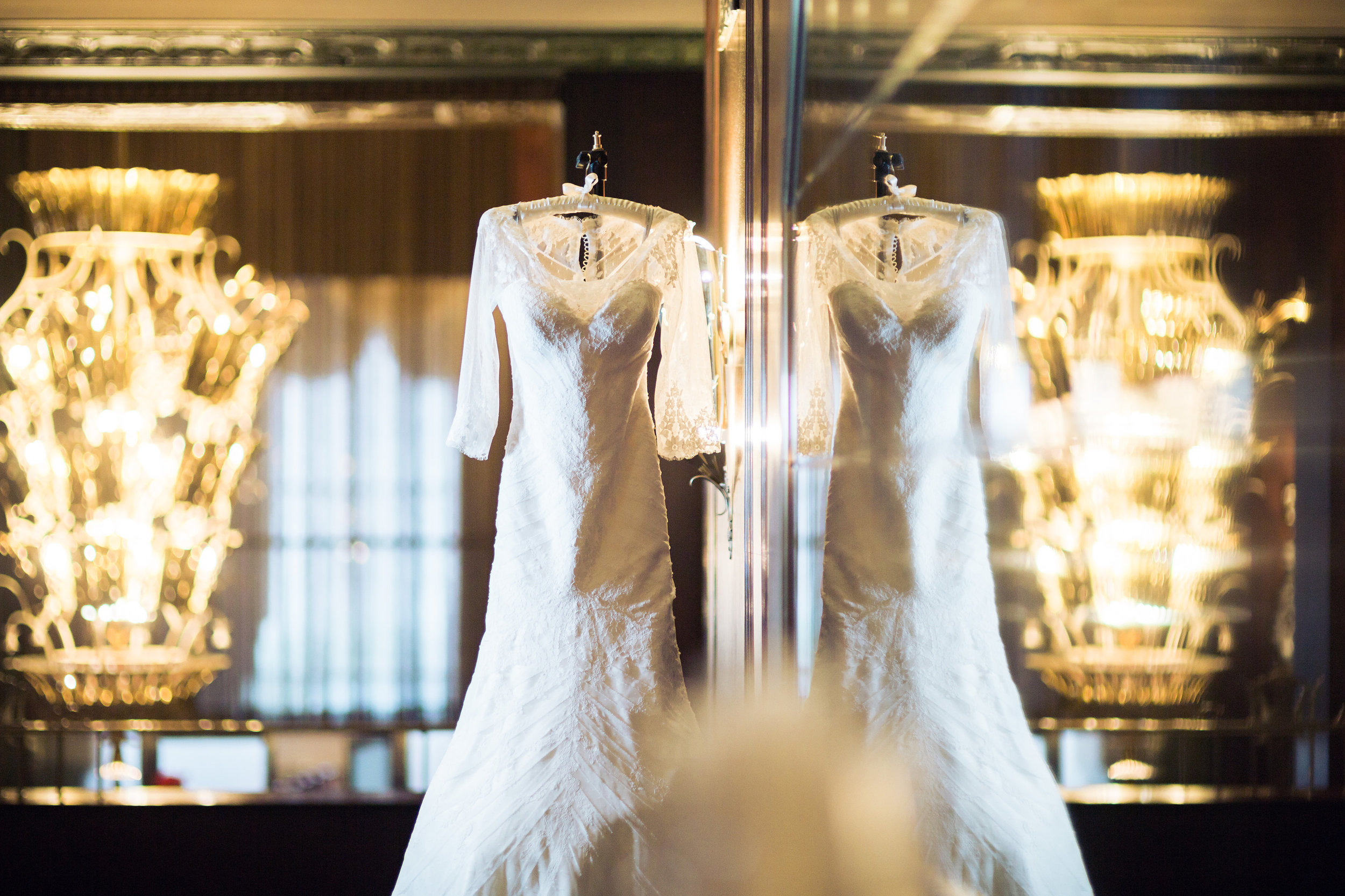 The Hilton Netherland Plaza Hotel Bridal Shot Cincinnati, OH