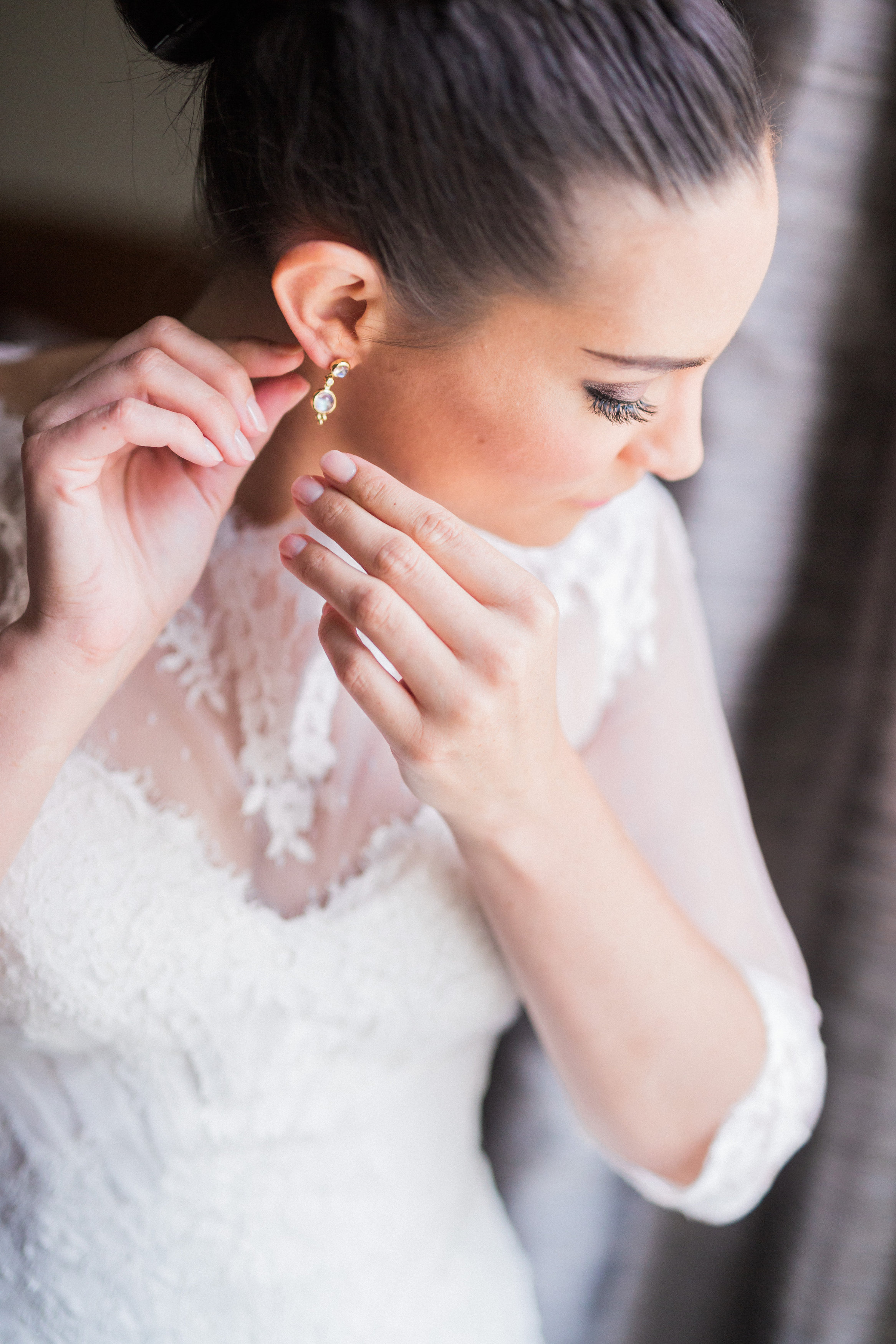 Bridal Shot at The Hilton Netherland Plaza Hotel Cincinnati, OH