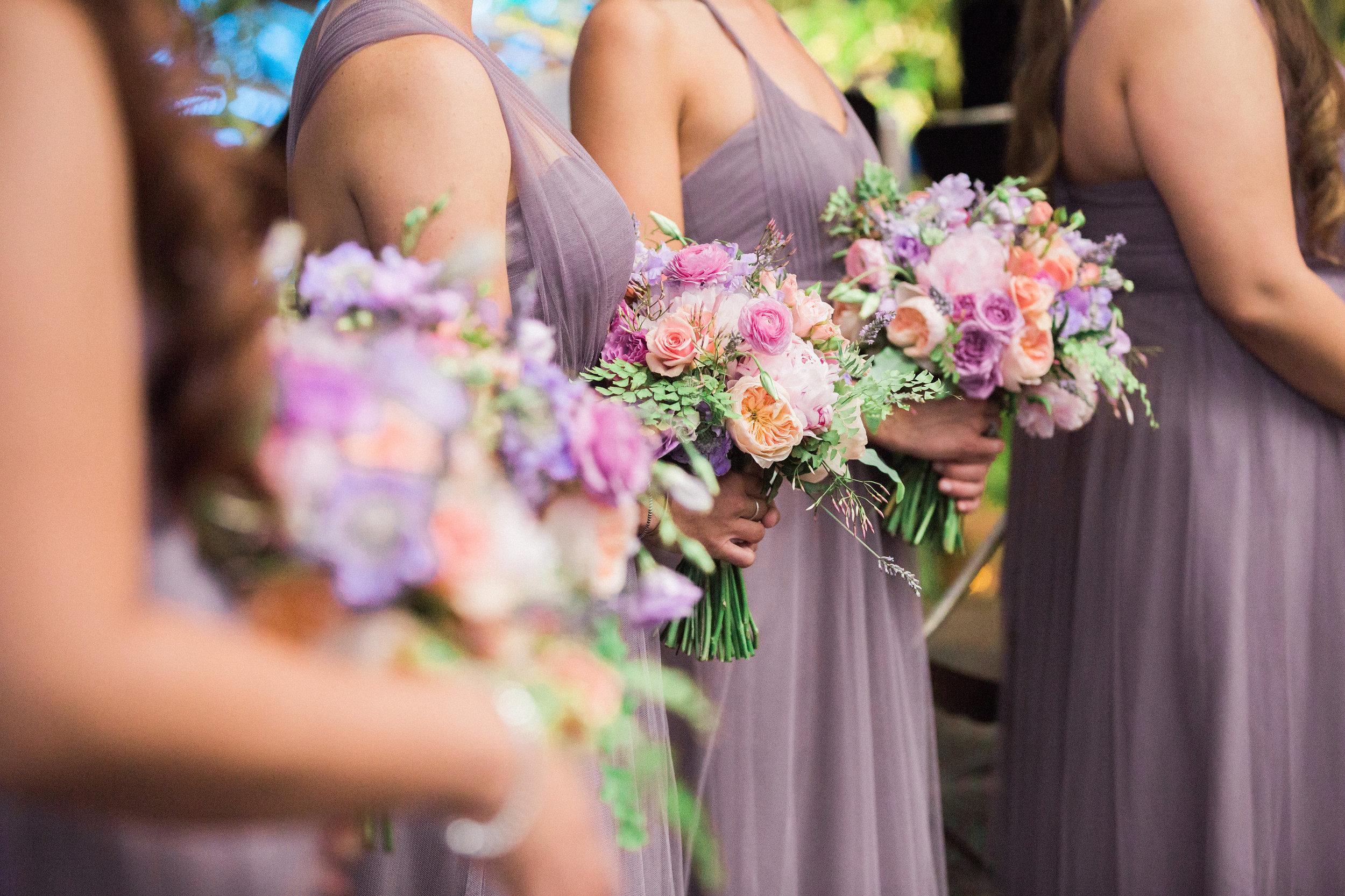Bridesmaids Bouquet at The Hilton Netherland Plaza Hotel Cincinnati, OH