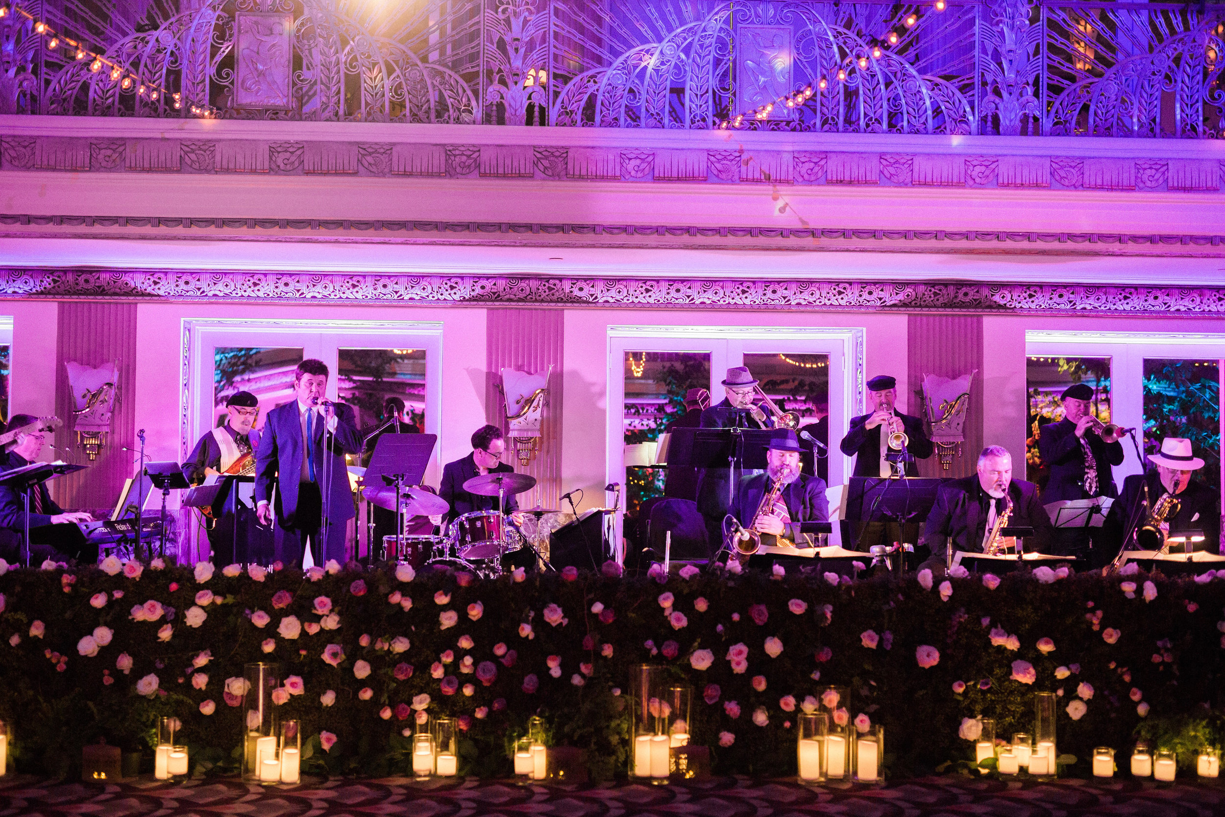 Band Shot at Reception at The Hilton Netherland Plaza Hotel Hall of Mirrors Cincinati, OH