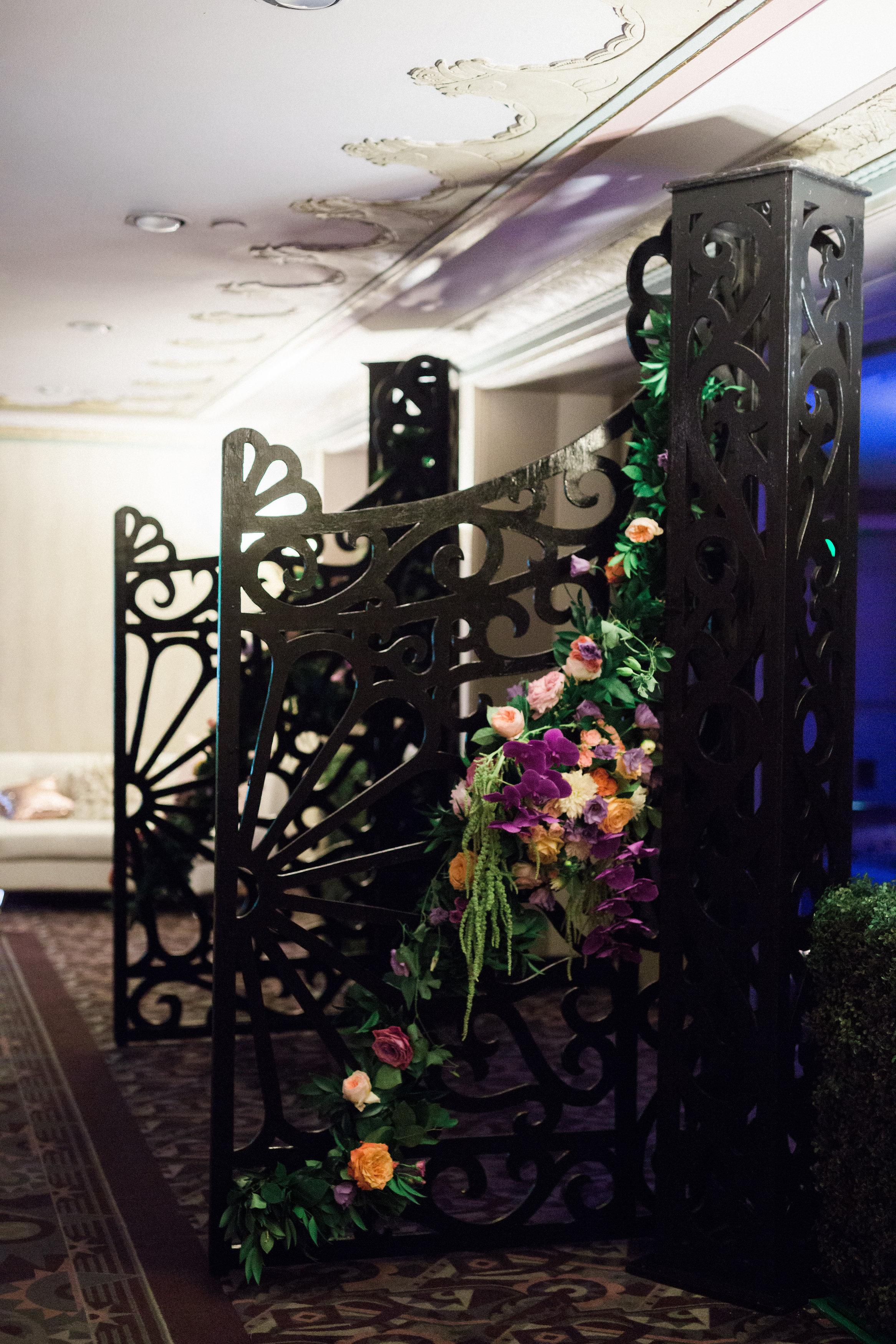 Grand Enterance to Reception at The Hilton Netherland Plaza Hotel Hall of Mirrors Cincinnati, OH