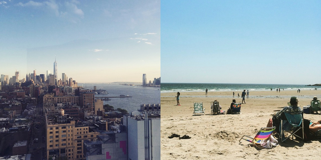 From the banks of the Hudson River to the beaches of Cape Ann — this is my life. (Photographs by Alexandra Saville)