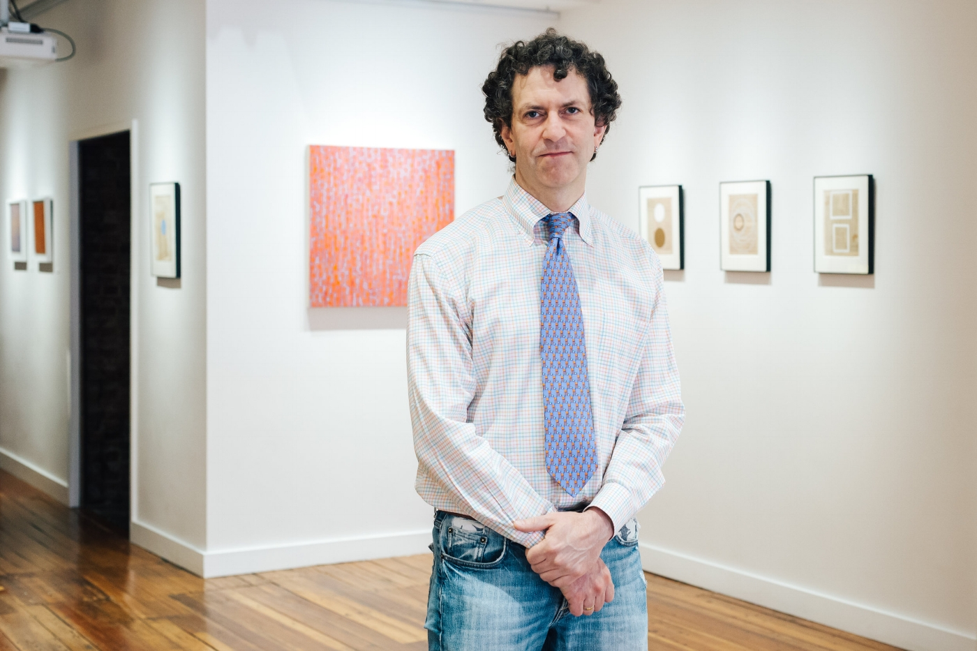 Trident Gallery owner Matthew Swift. (Photograph by Dana Wendt)