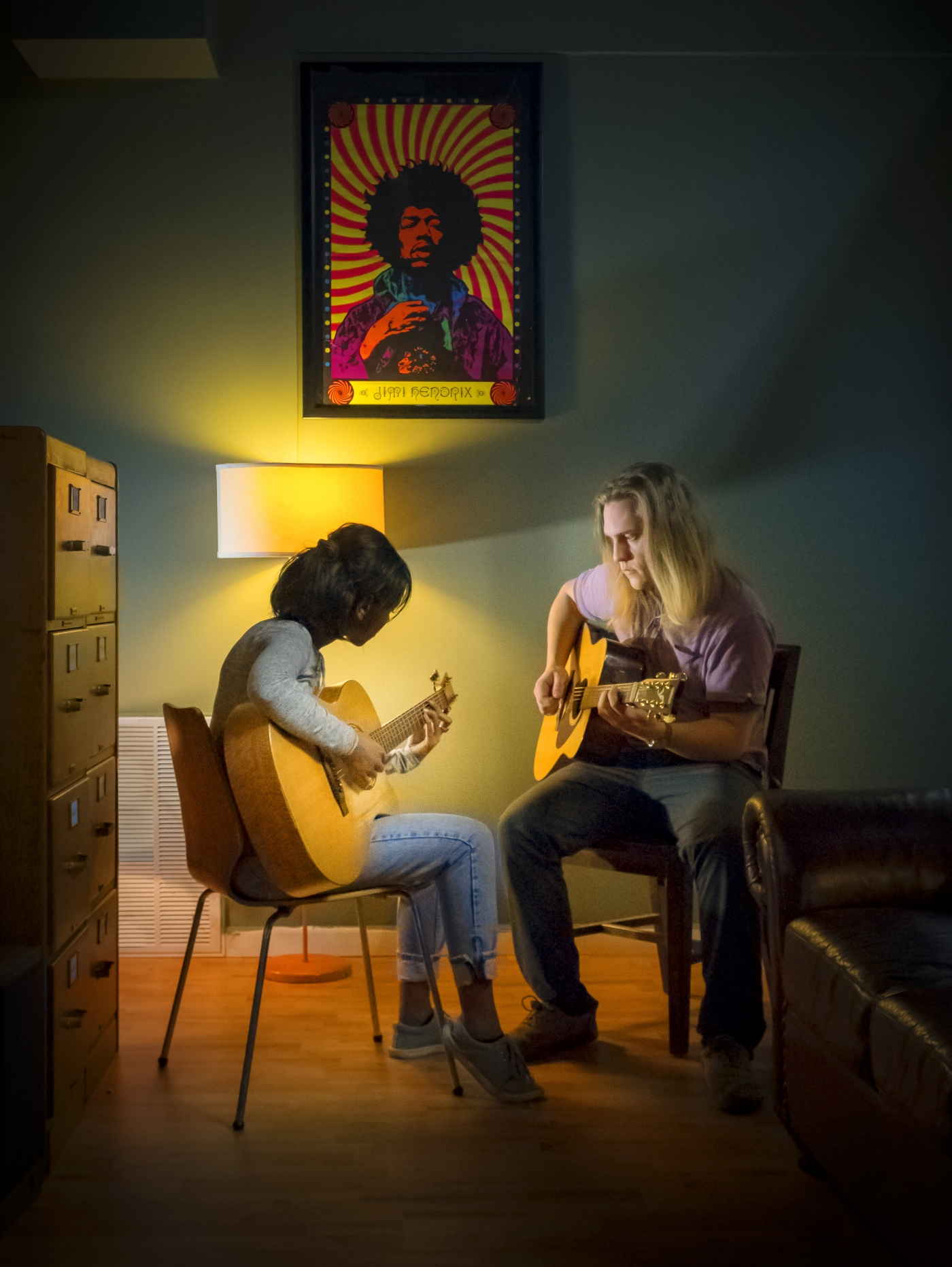 Lessons are the bread and butter for those who hope to make a career in music. (Photograph by Steve Marsel)
