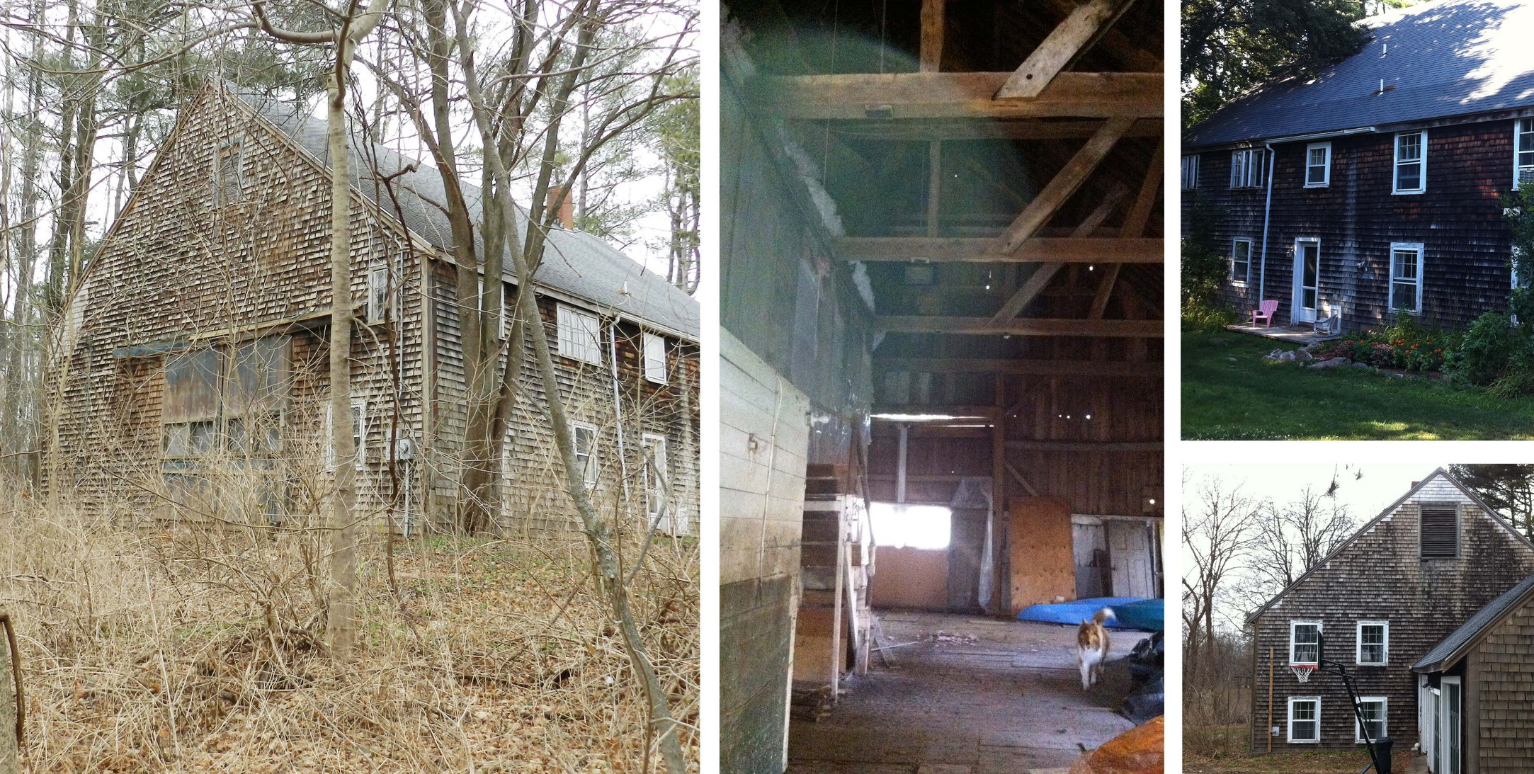 The barn was originally on another property on Argilla Road.