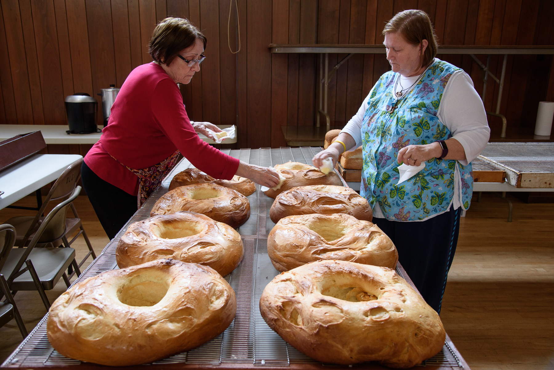 """""""We've Got the Holy Spirit, So the Bread Will Rise"""""""