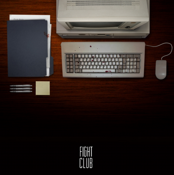 Fight Club  //  Poster