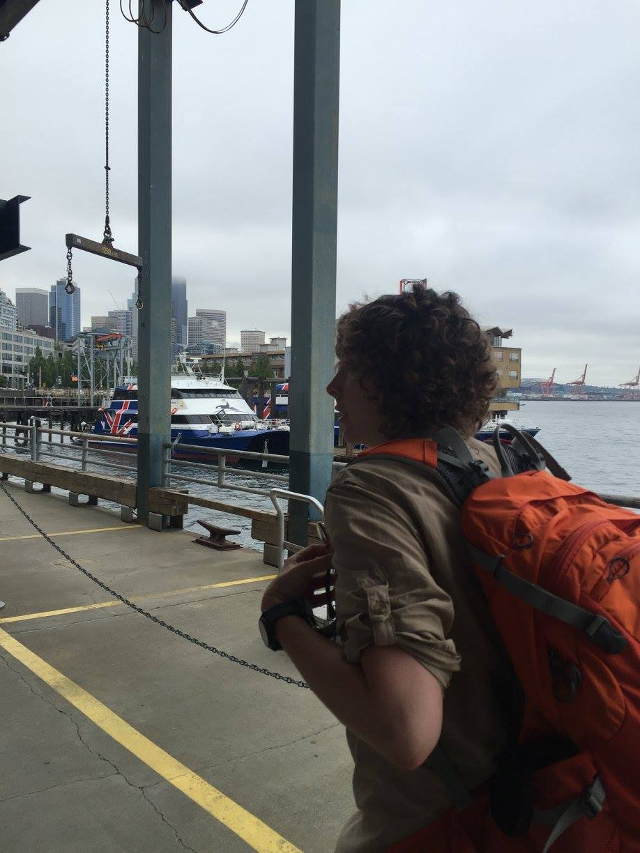 Our ferry awaits!