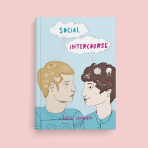 Social Intercourse bookcover design