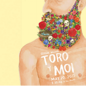 Toro y moi poster design