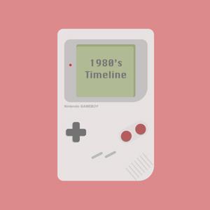 1980s timeline digital design
