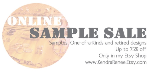 Take it online! This is the banner I posted on my website to announce the sale.