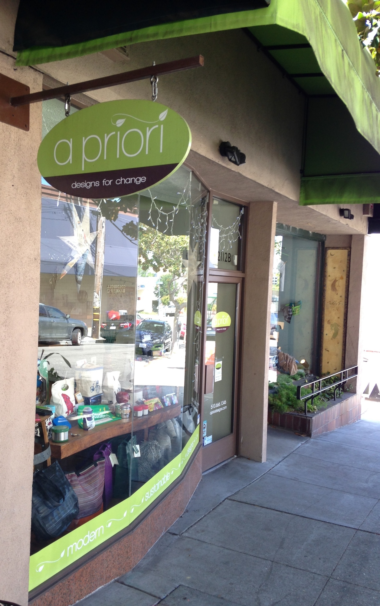 Retail feature: A Priori in Berkeley, CA