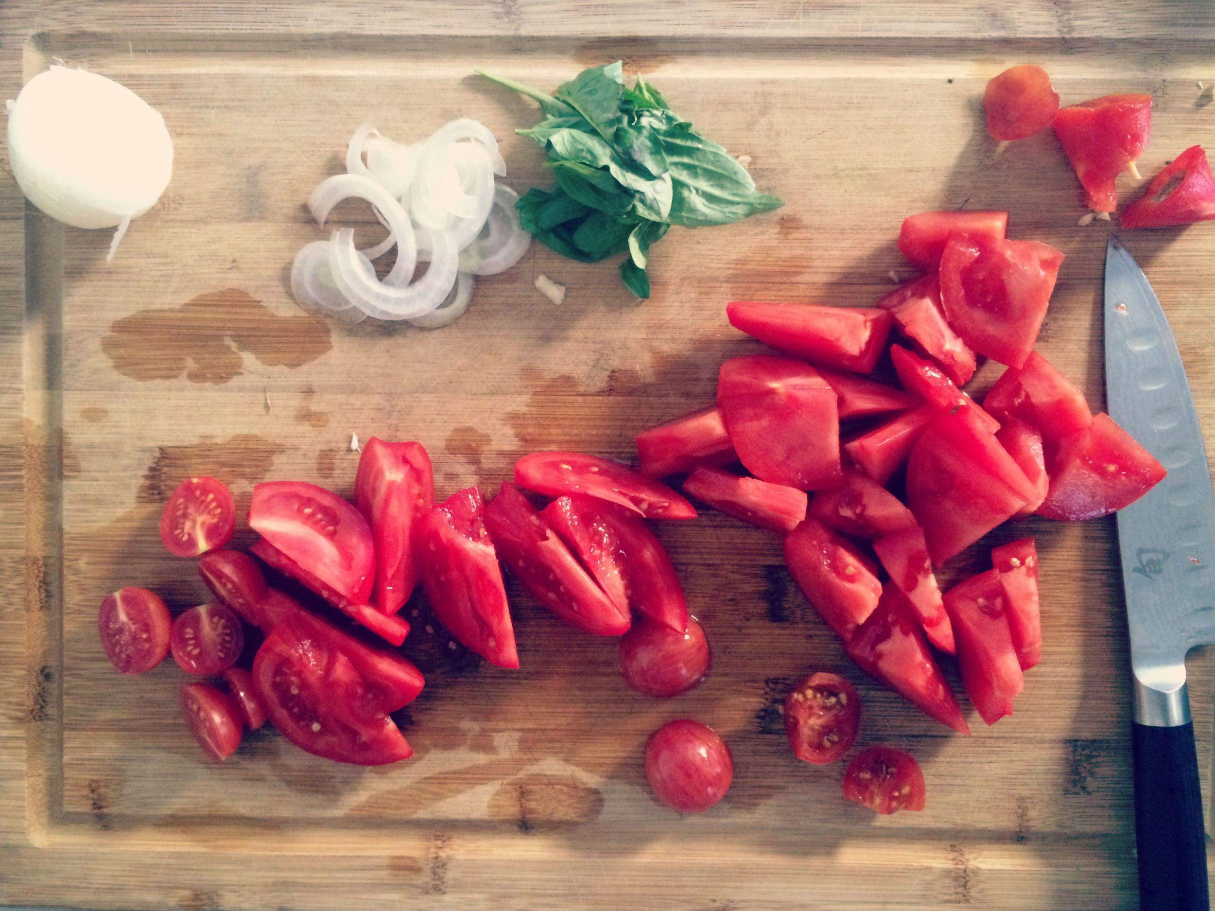 Creative Business League In The Kitchen Summer Tomato Salad Recipe