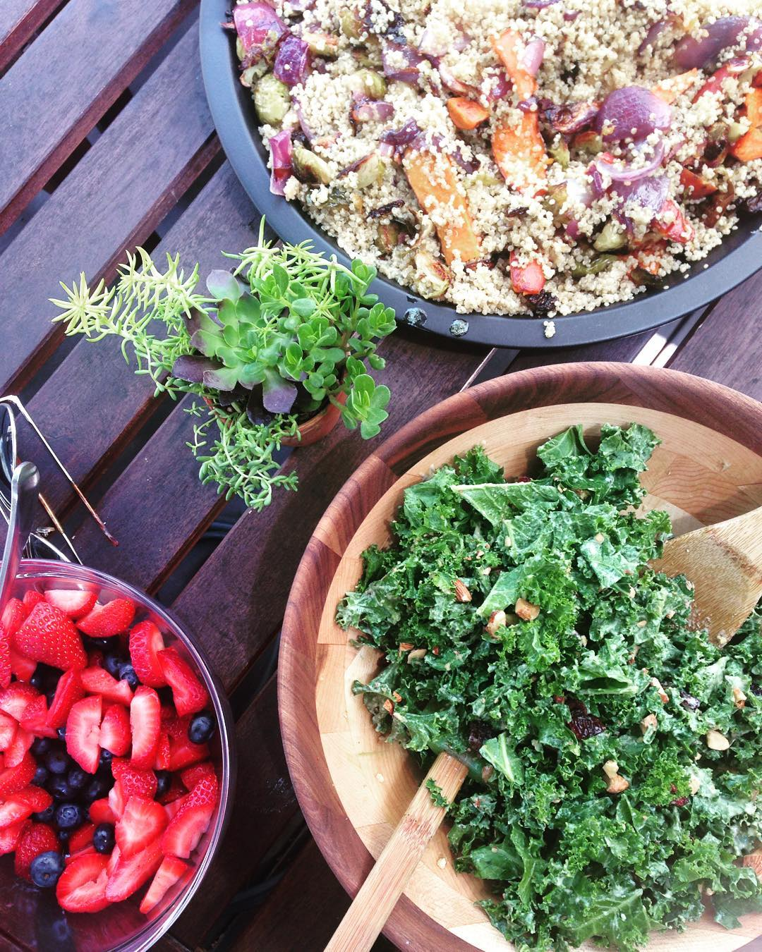 A Mid-Year Retreat is like a vacation for your business.  Photo of our delicious lunch by Alyson Thomas.