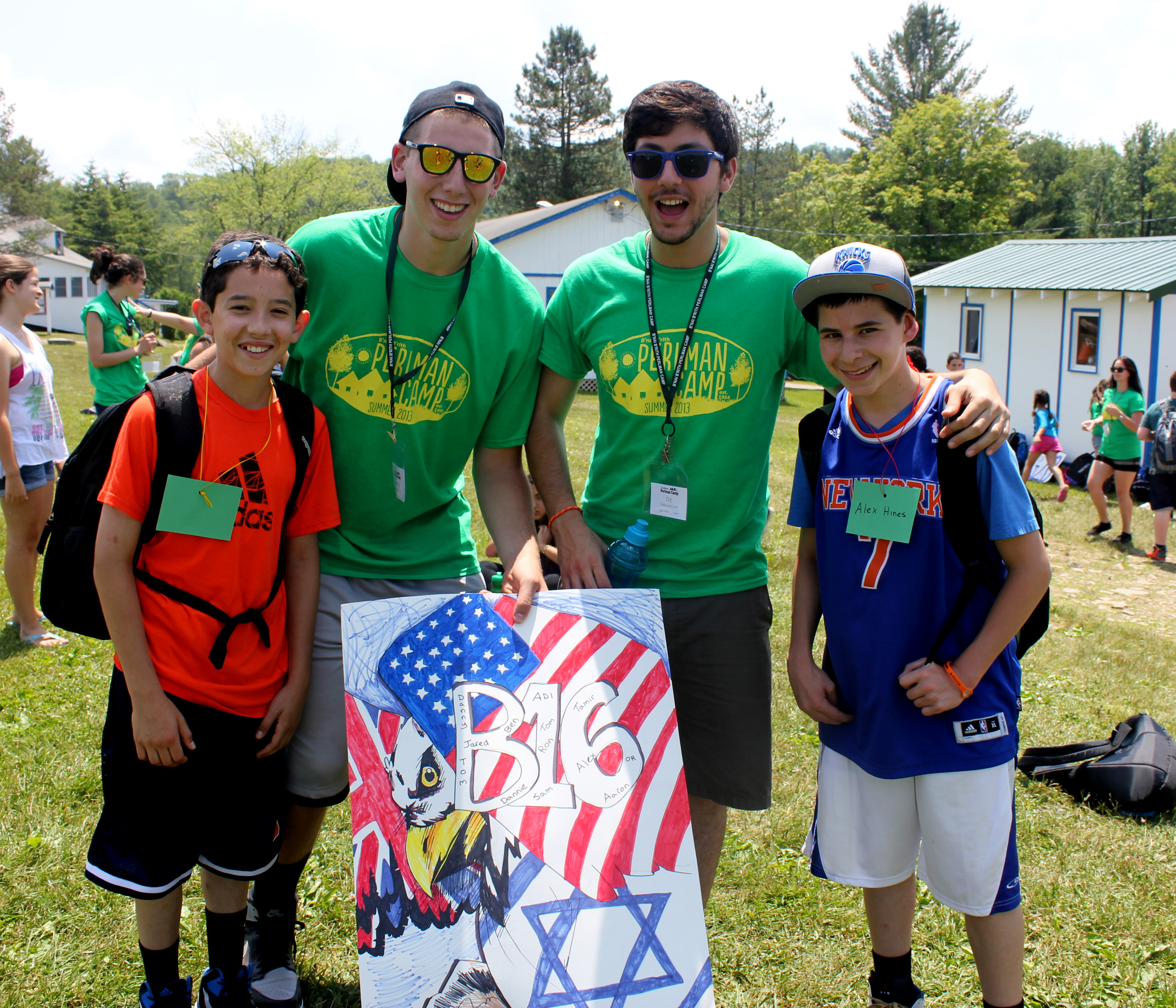 Israel Day at Perlman Camp