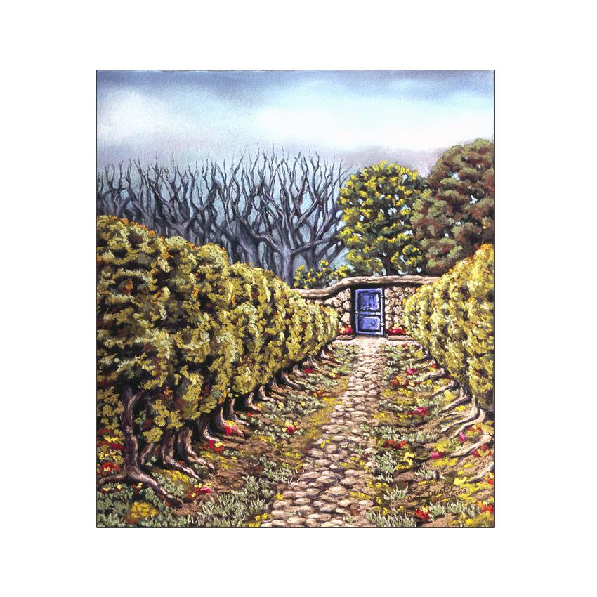 Garden Gate - Original Sold
