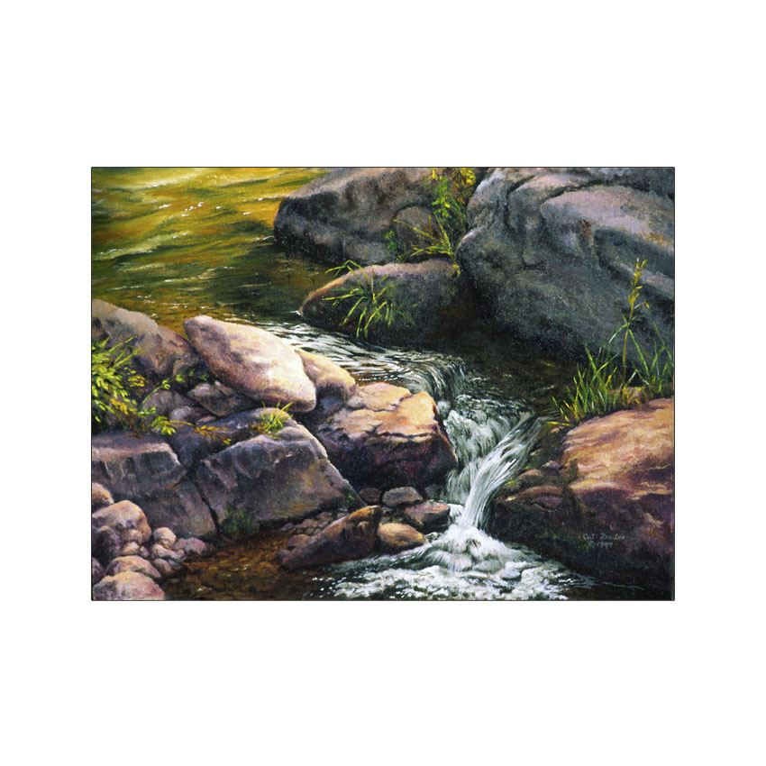 Little Elk Creek - Original Sold