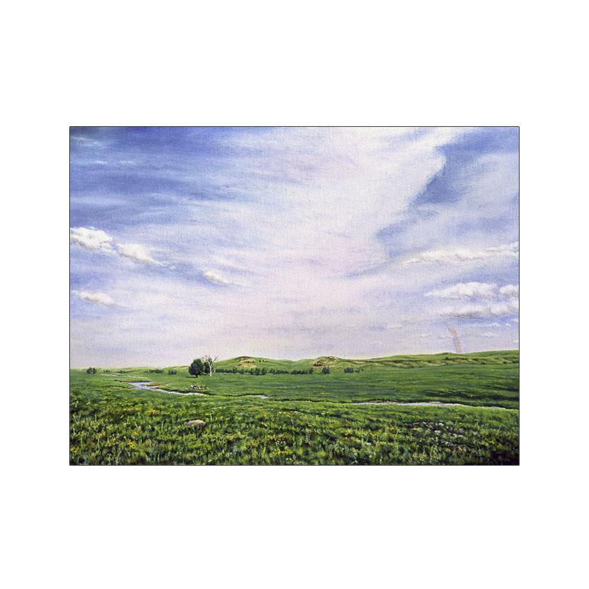 Prairie Sky - Original Sold