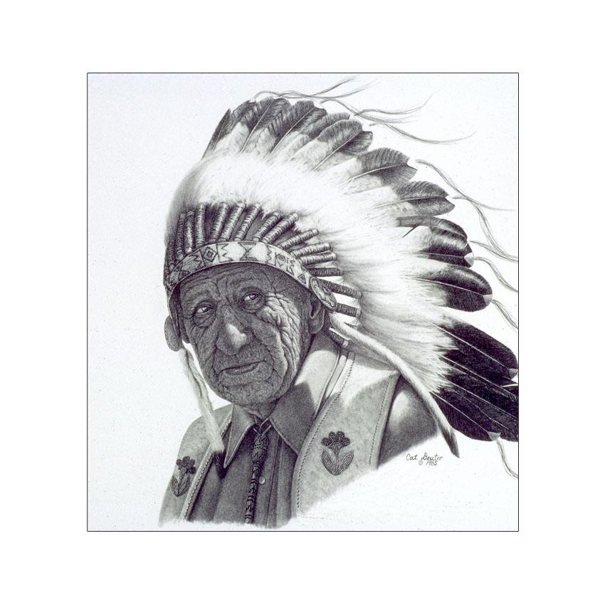 Crow Traditions - Original Sold
