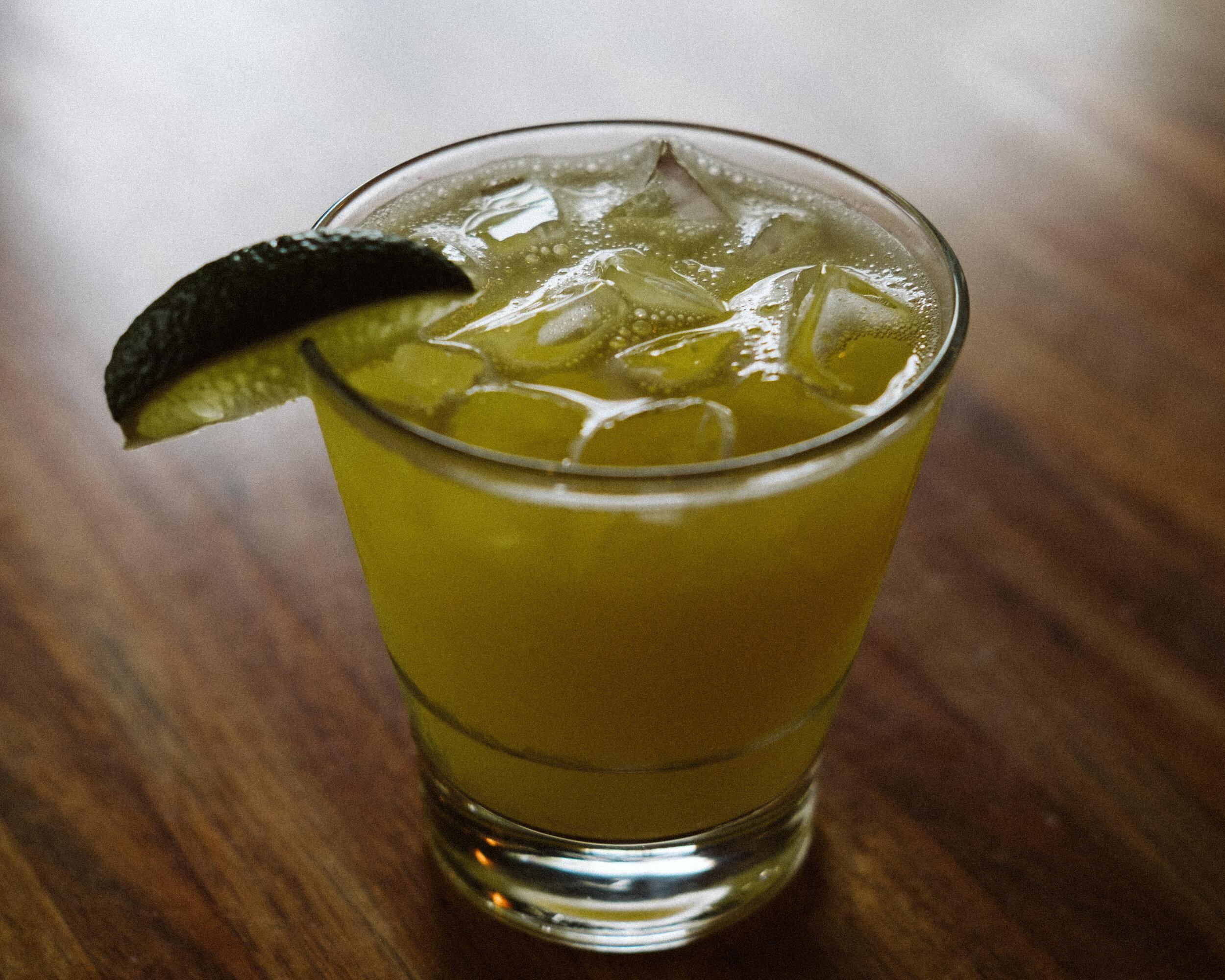 Kombucha-Rita - Lanazul Resposado / Lime / Simple / Kombucha