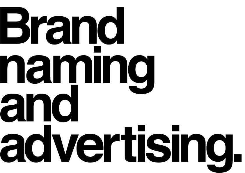 Brand naming and advertising