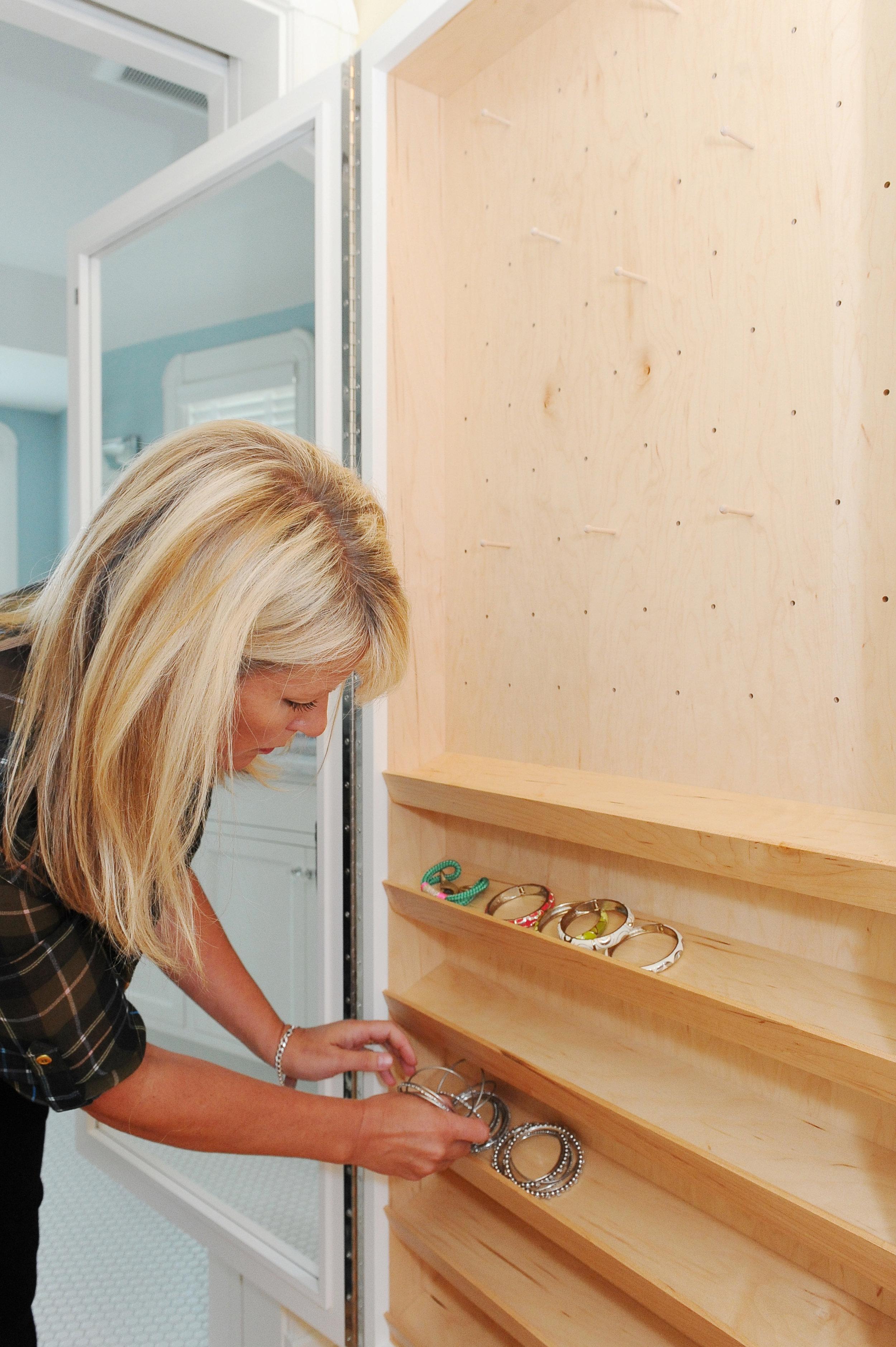 angled display trays for bangles and more