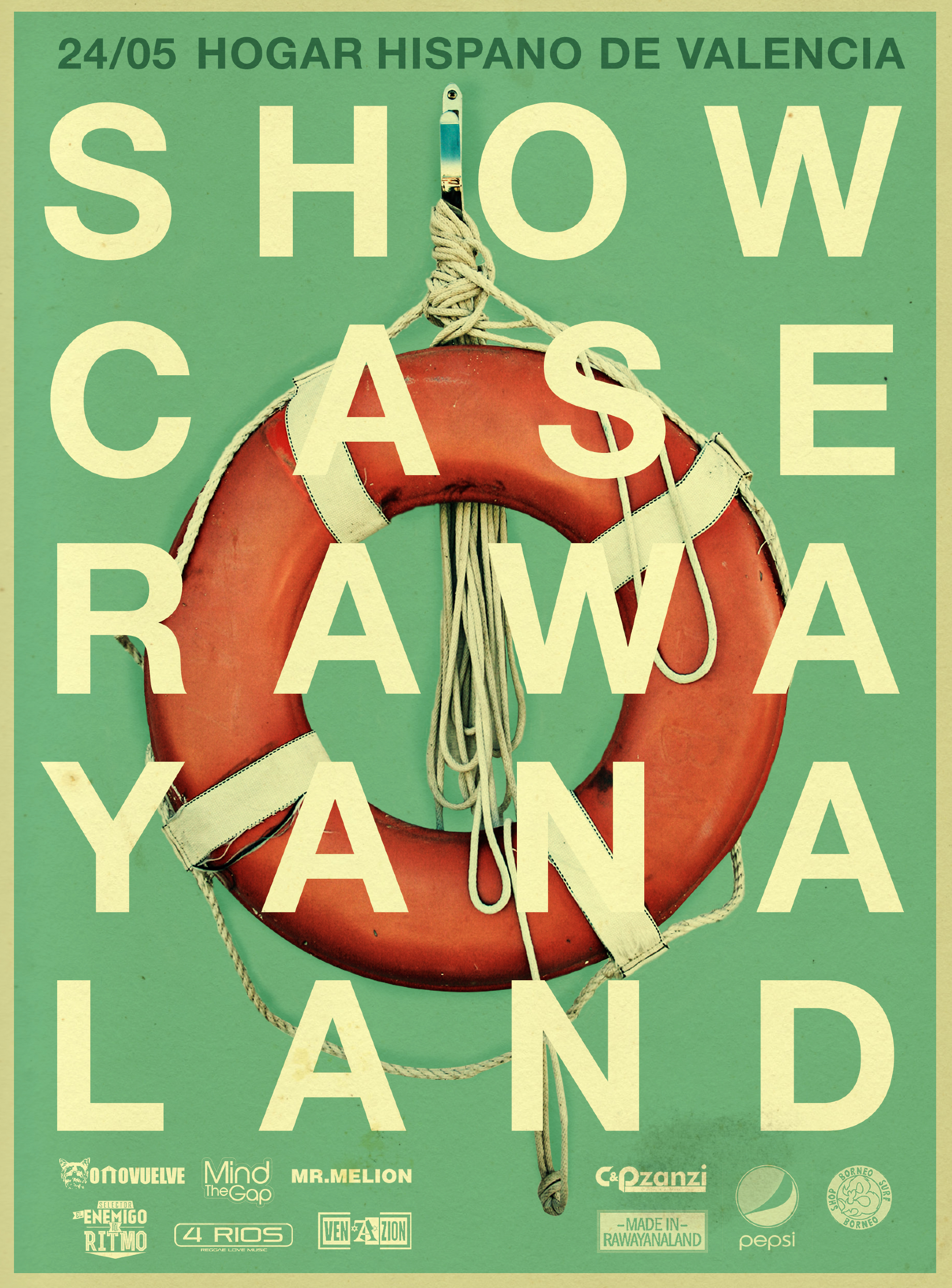 Album Showcase 2nd Flyer