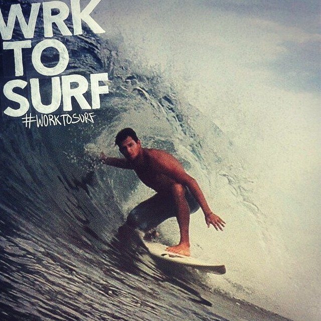 Luca Bobbio manager at @soulridercamp from Italy. #worktosurf