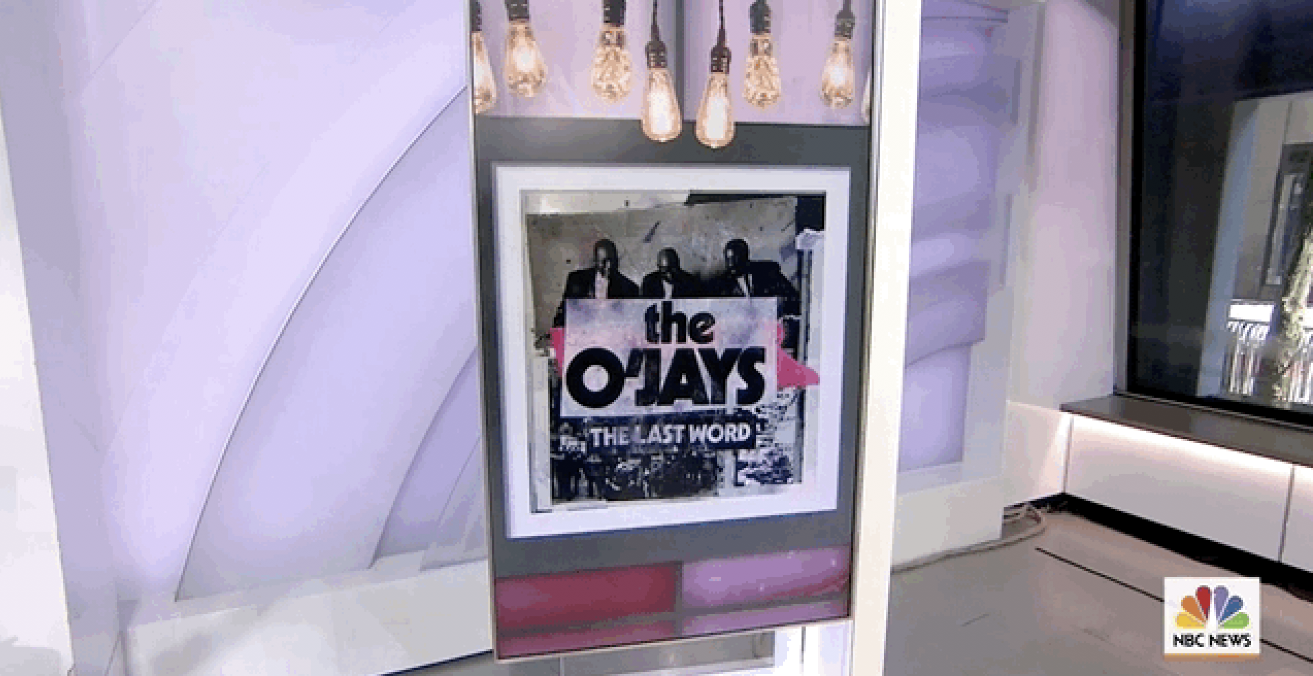 The O'JAYS performing on NBC Today live in New York.