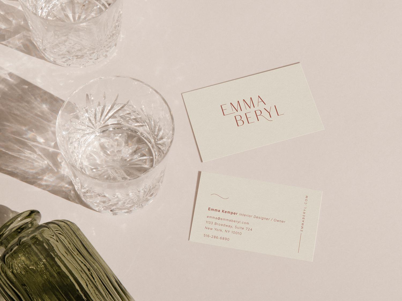 Branding Project: Emma Beryl Interiors