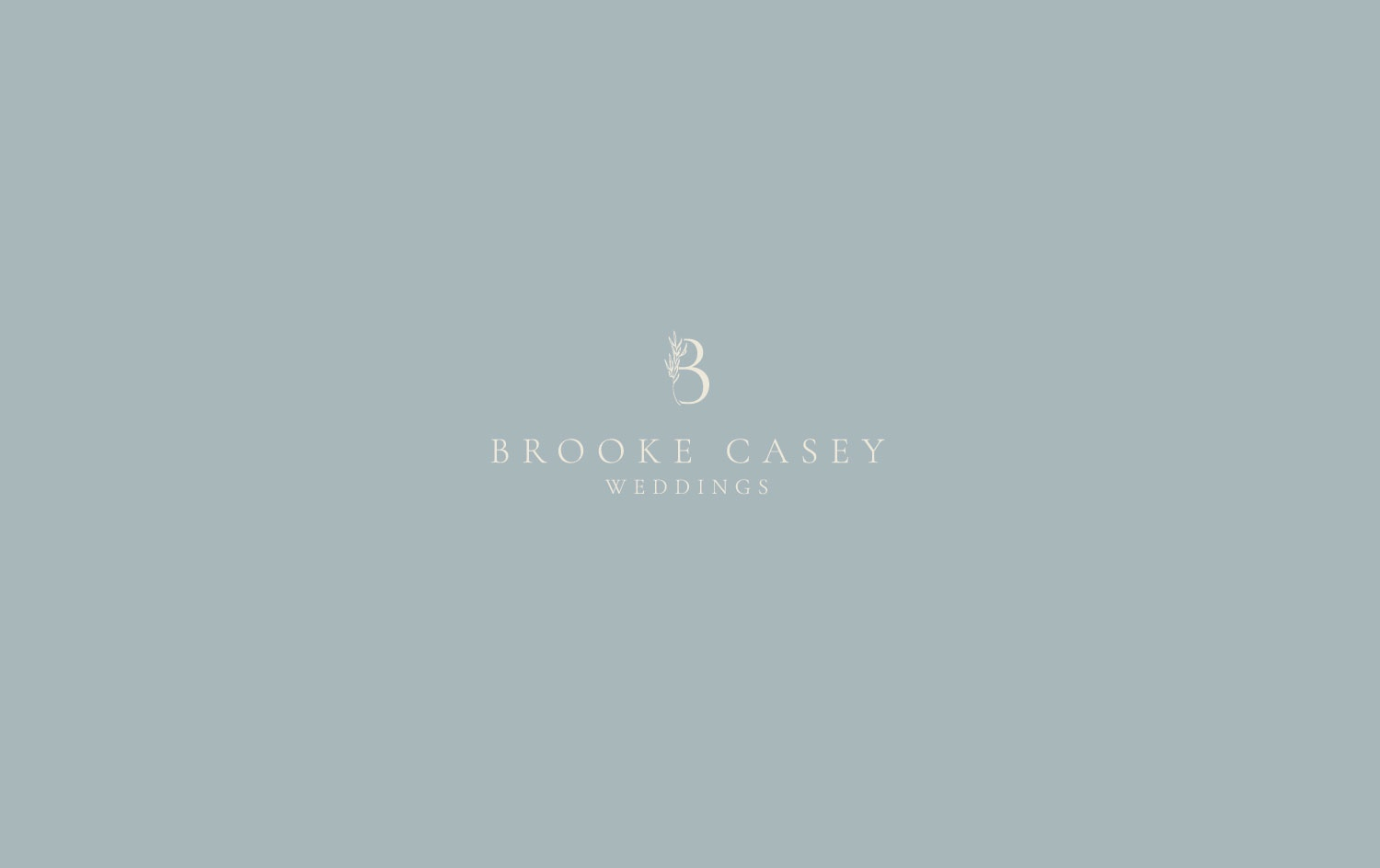 Branding Project: Brooke Casey Weddings