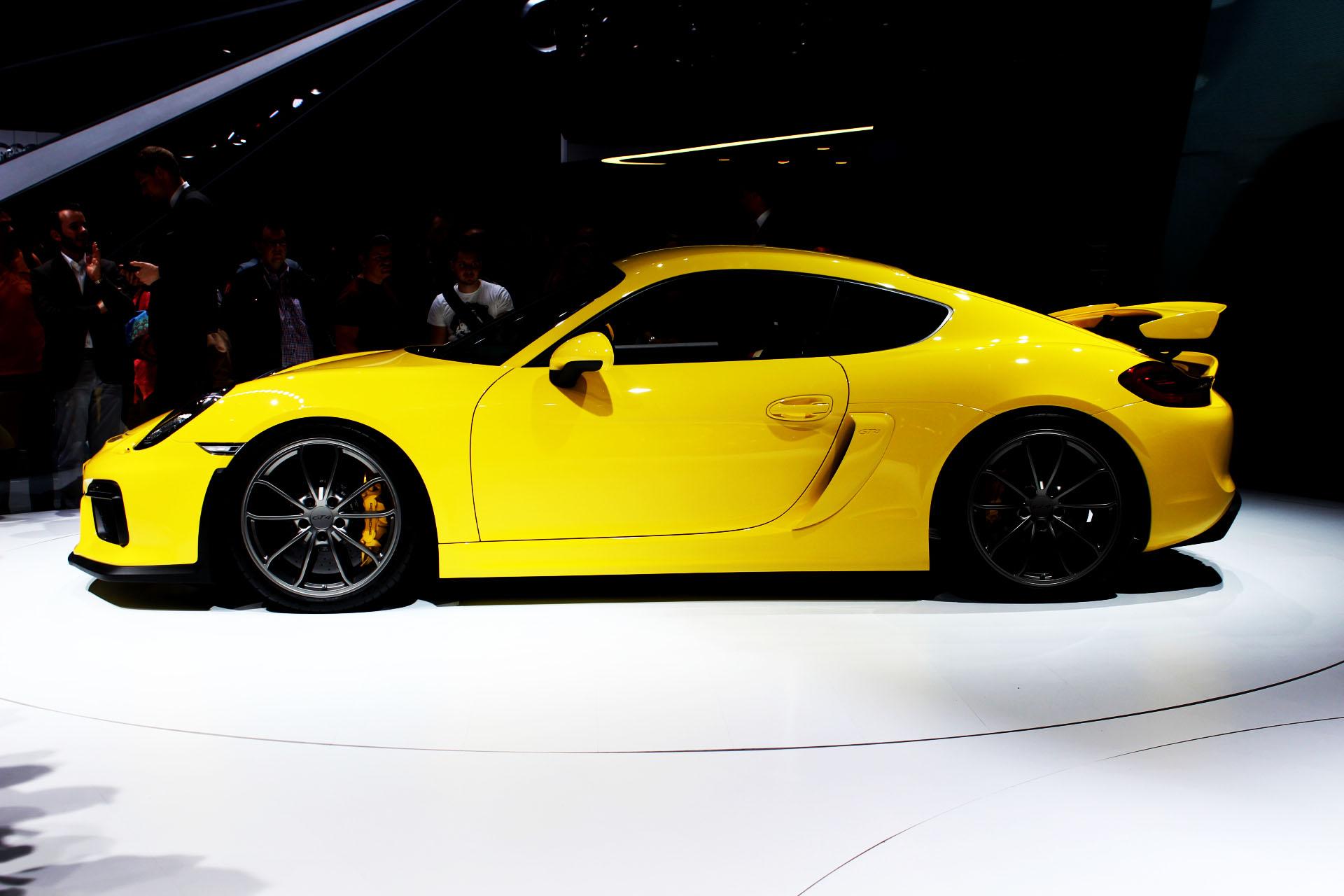 Cayman GT4 - Porsche