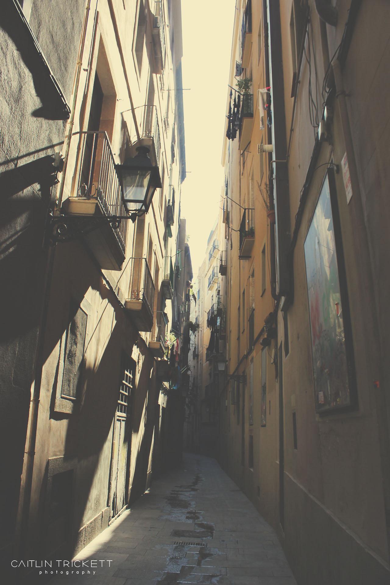 Barcelona, Spain (The Gothic Quarter)