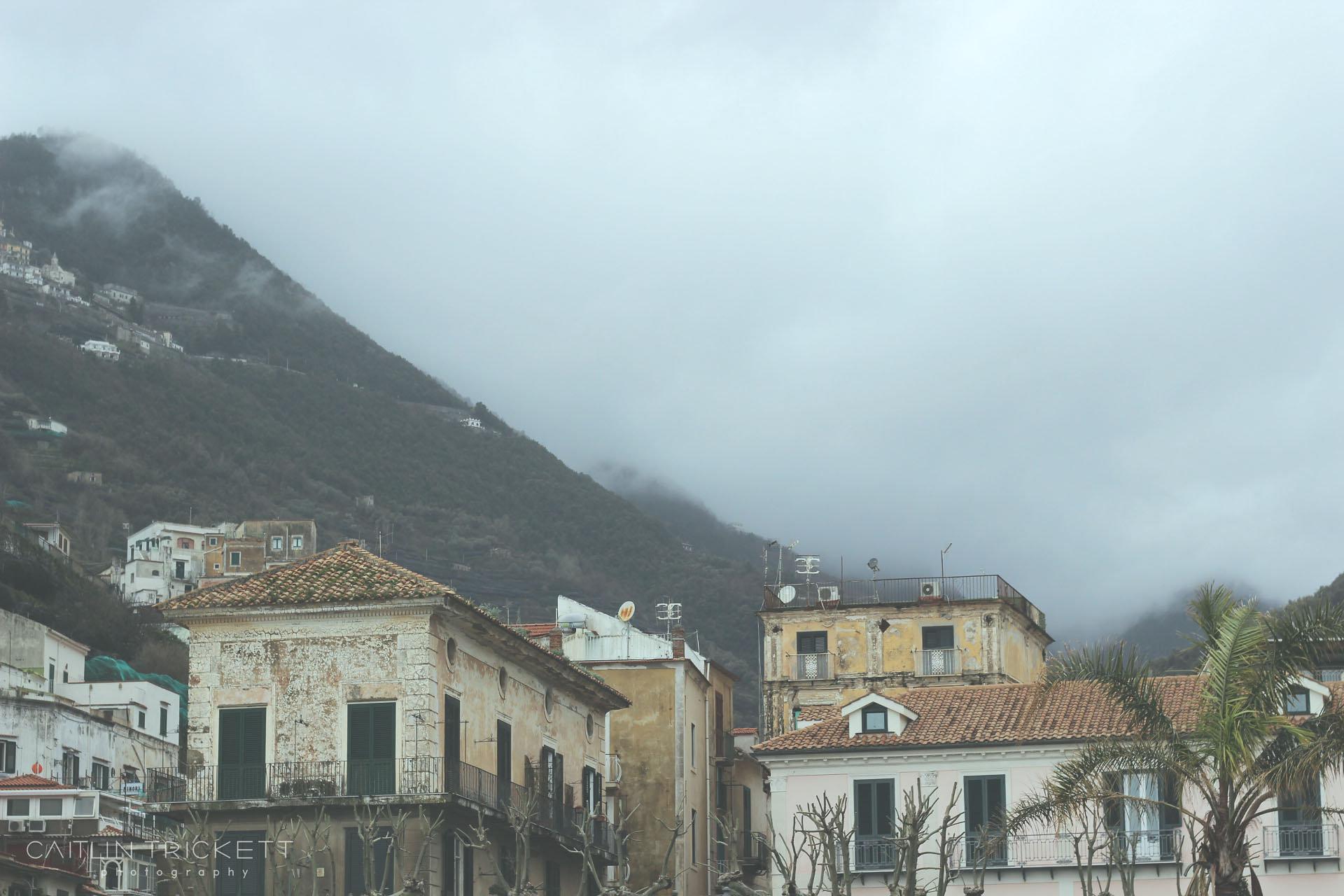 Minori,Italy (from the Mediterranean Sea)