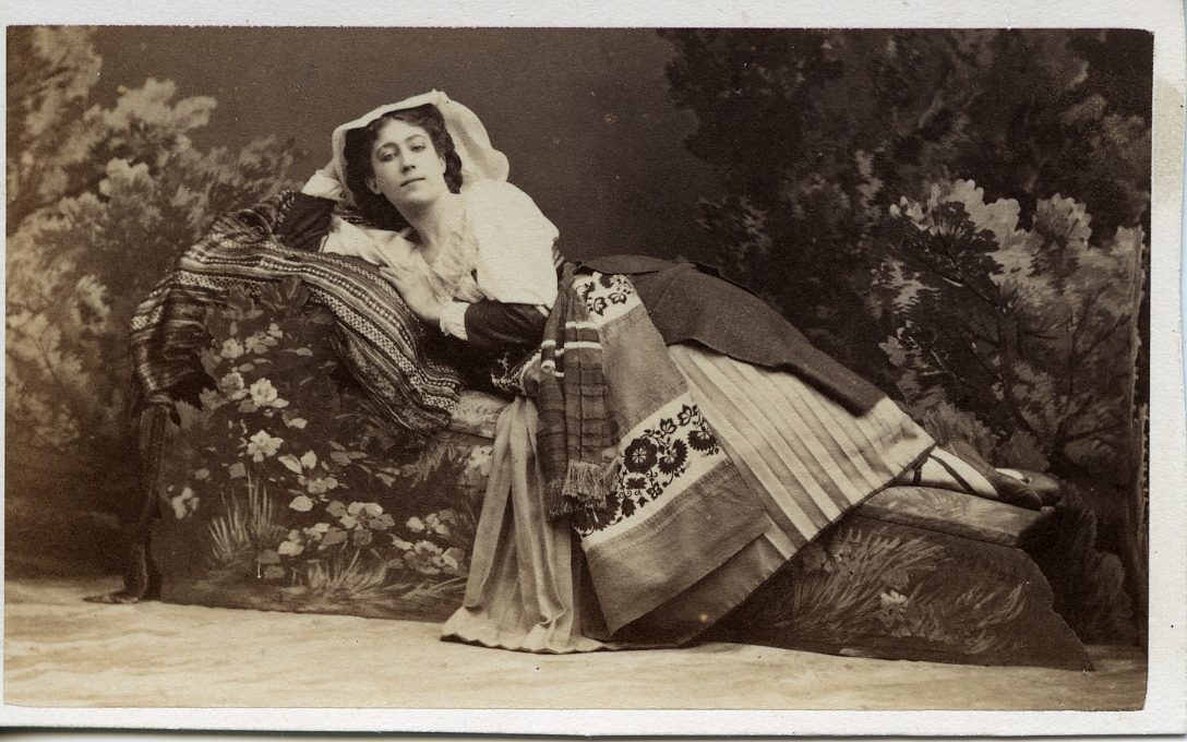 Marie Vernon, dancer with the Paris Opera Ballet in 1860s