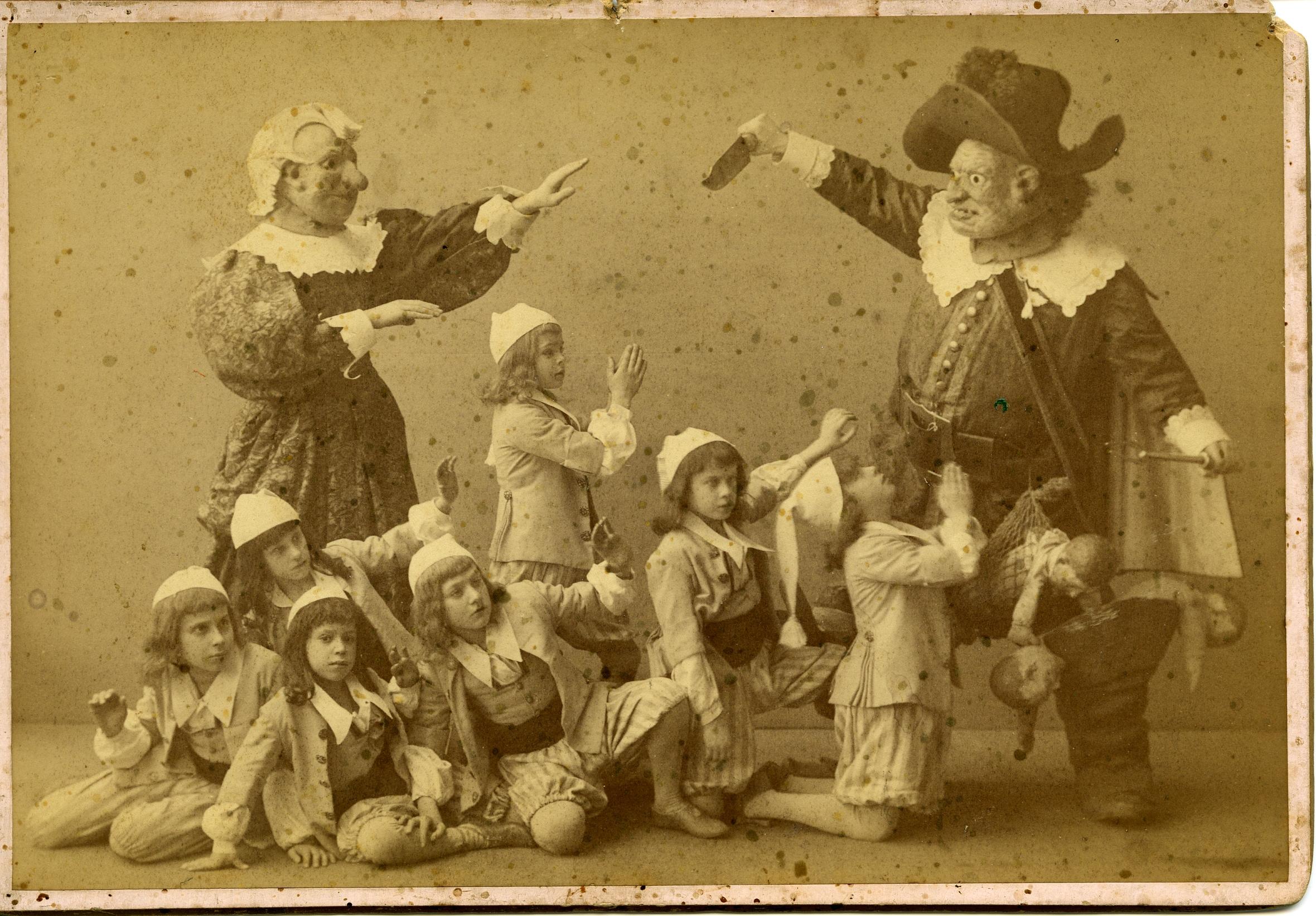 """Hop-o'-My-Thumb"", 1890 original cast of The Sleeping beauty"