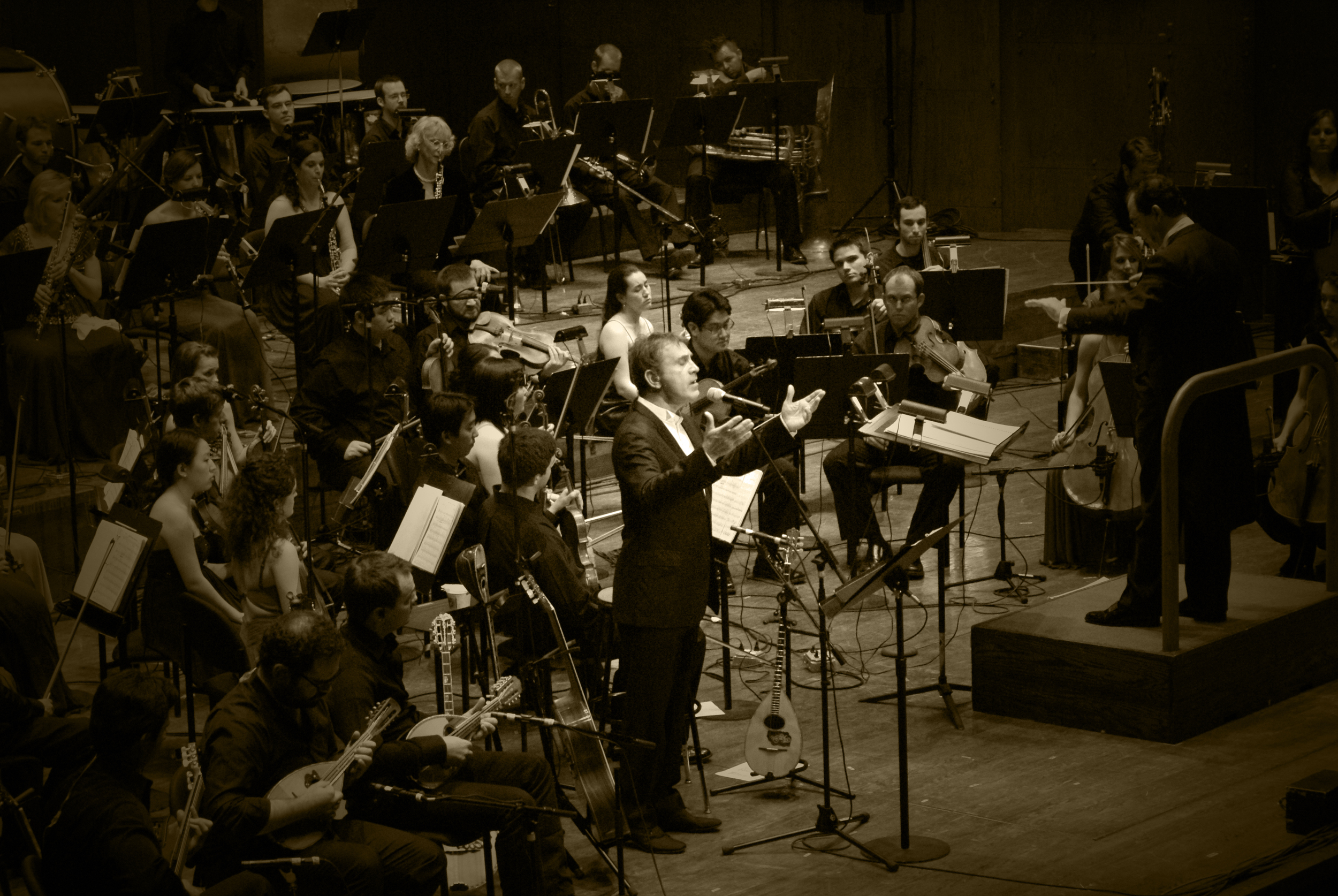 George Dalaras accompanied by CityMusic Cleveland Orchestra 2010