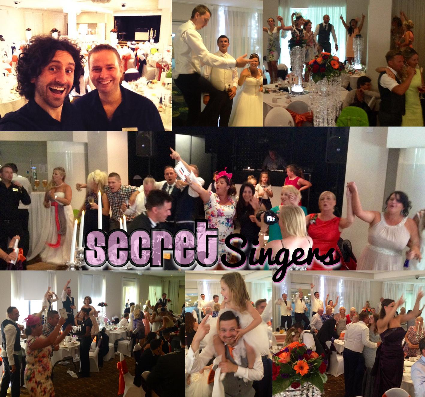 Secret Singers - singing waiters