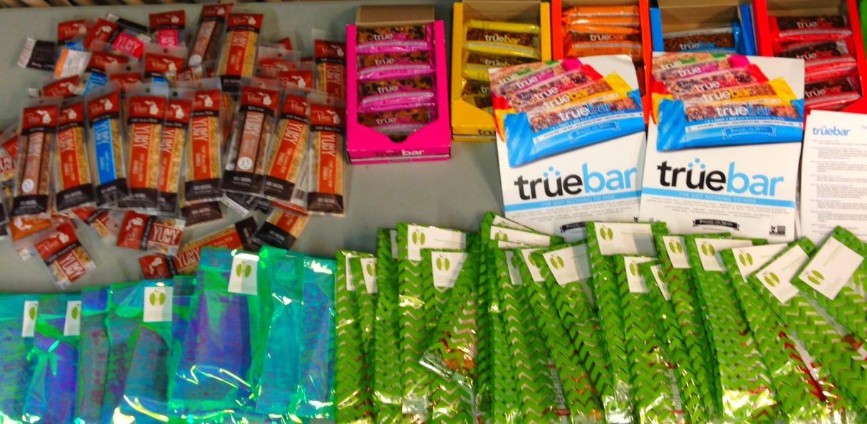 Shaklee Goodie Bags, Rani's Yummy Granola, TrueBars