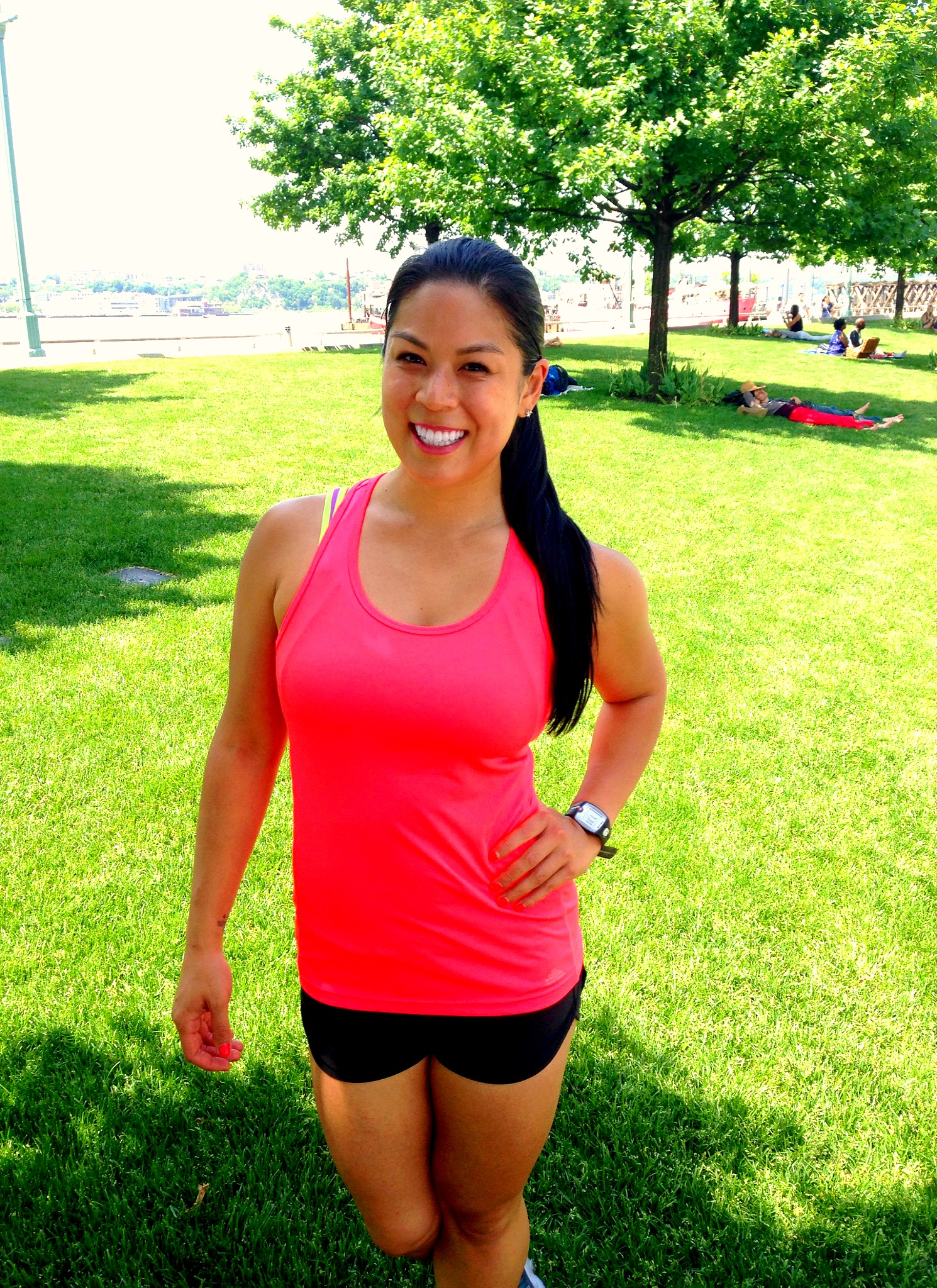 It's finally SUMMER! Let's get outdoors for some fresh air, sunshine and an awesome workout!
