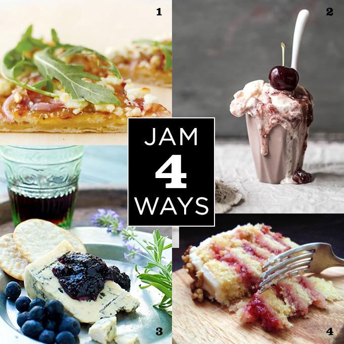 4 Creative Uses for Jam | SavoryPantryBlog.com