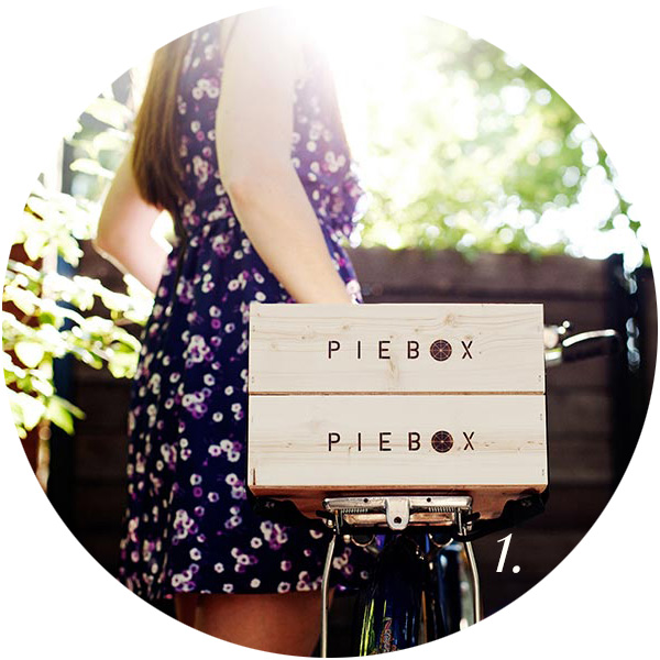For the Love of Pie Roundup | Pie Box | TheSavoryPantryBlog.com