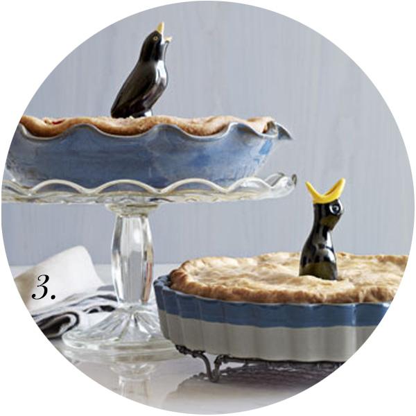 For the Love of Pie Roundup | Vintage Pie Birds | TheSavoryPantryBlog.com