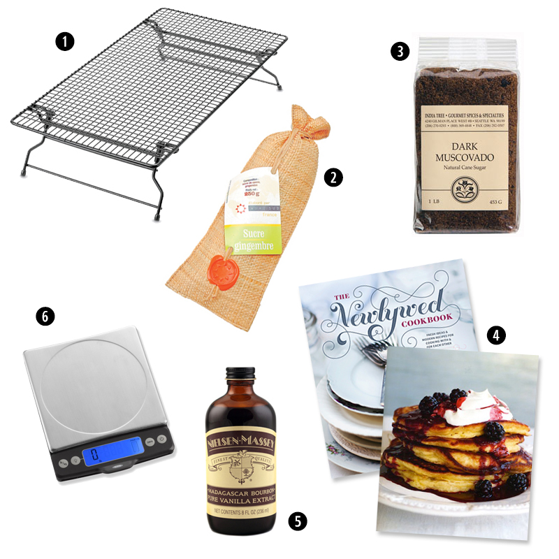 Gifts for the Beginner Baker | The Newlywed Cookbook | SavoryPantryBlog.com