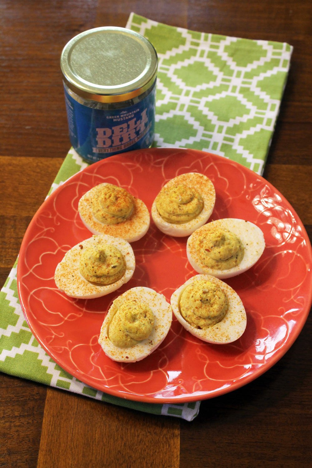 Jeanne & Ed's Party Eggs With No Mayo. Just Mustard. | SavoryPantryBlog.com