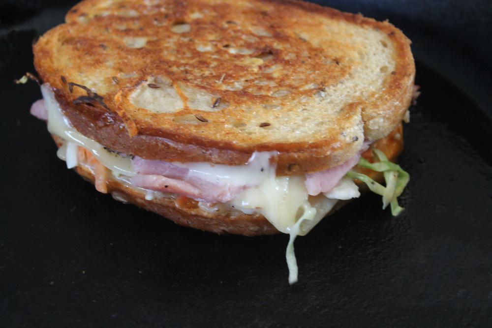 The Savory Pantry's Arkansas Ham Reuben Sandwich | SavoryPantryBlog.com