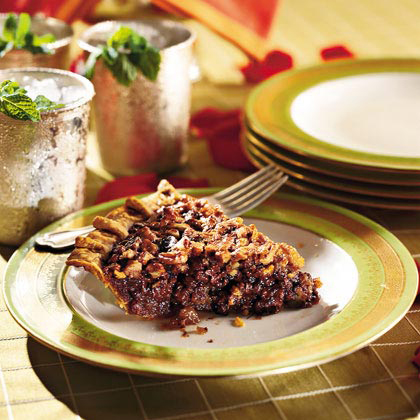 This version of Derby pie replaces pecans with walnuts for a delicious twist.