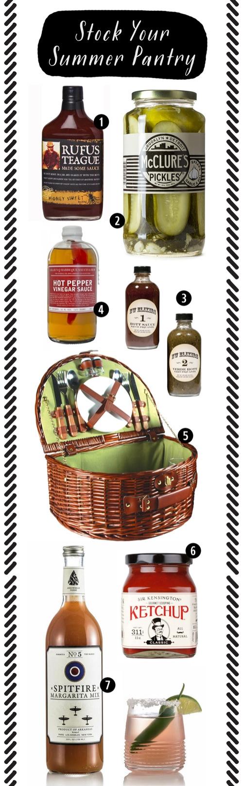 Stocking Your Summer Pantry | SavoryPantryBlog.com