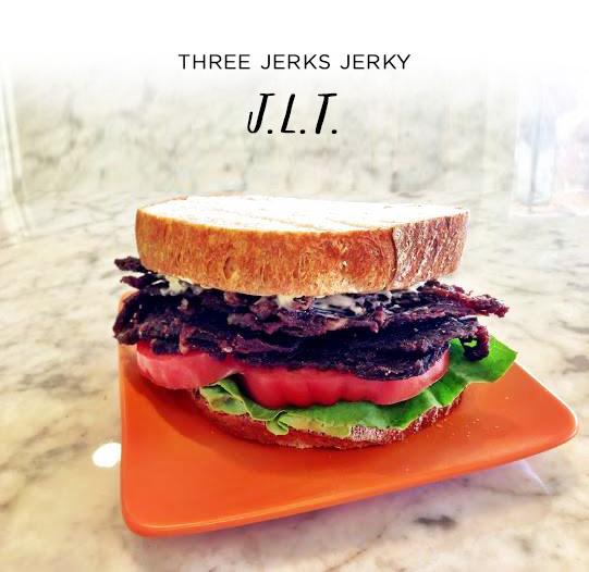 Three Jerks Jerky J.L.T. | SavoryPantryBlog.com